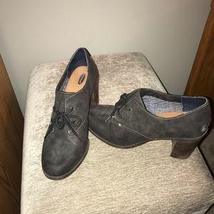 Black Dr. Scholls heels size 10